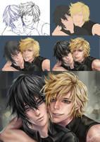 Final Fantasy xv by ArisaraFANART