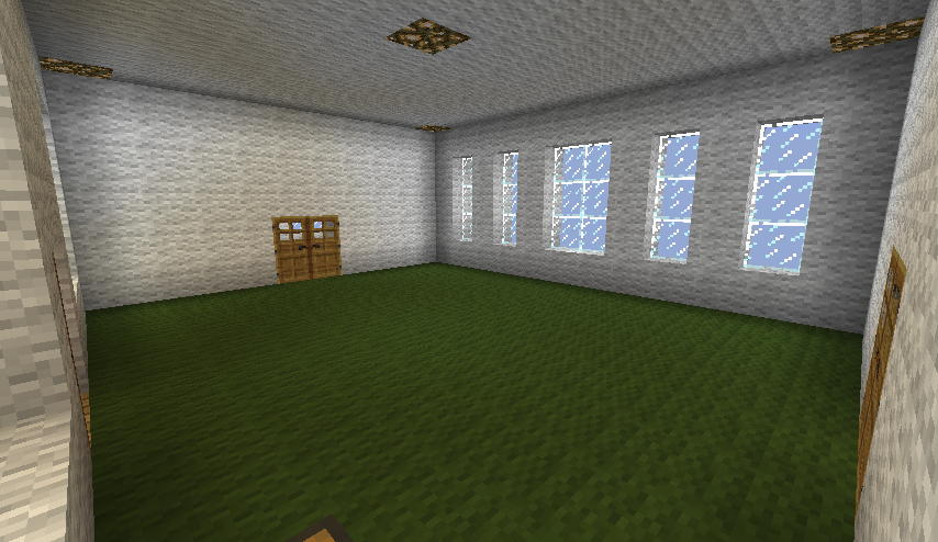 A New House Dark Green Carpet Room By ChestyKitty