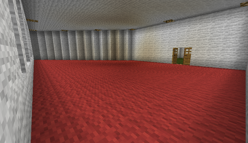 New House Red Carpet Room By ChestyKitty