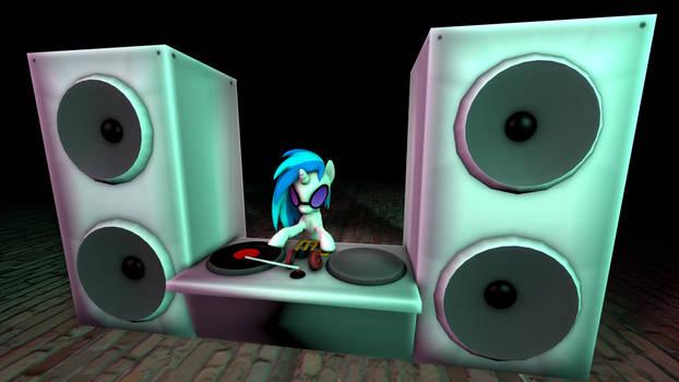 Vinyl Scratch Dj booth