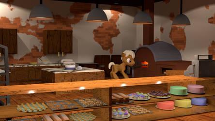 Bakery (Blender Cycles) by PercyTechnic