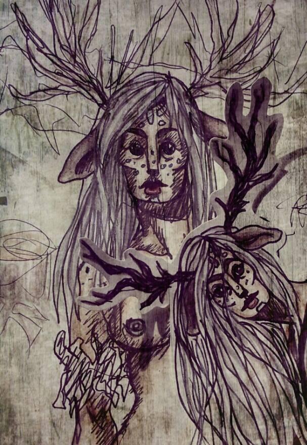 Deer Girl by KoRaIkOwAnTsCoOkIeS