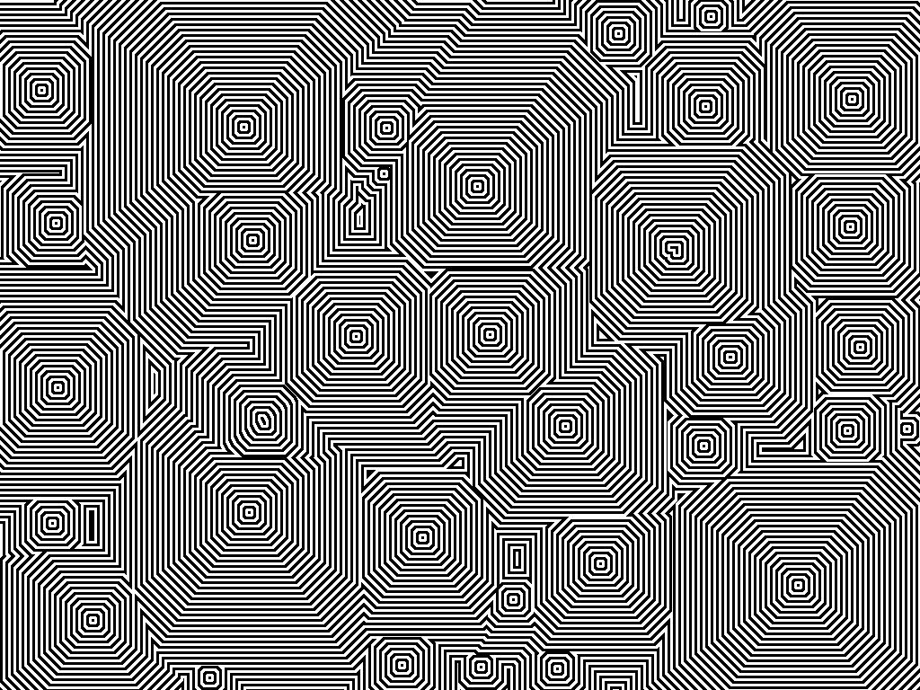 Dizzy pattern.