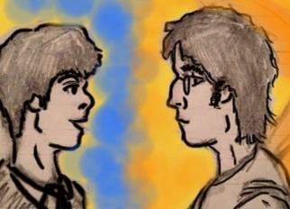 John Lennon and Paul McCartney by StarBird18