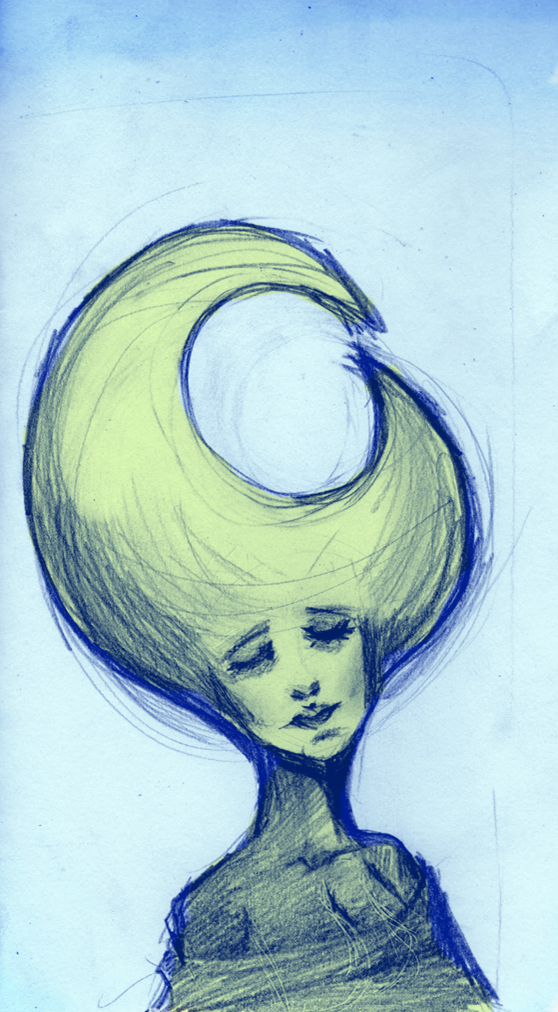 Lupin Memento a Holdfejű The_moon_head_girl_by_alebriges-d36dpjg