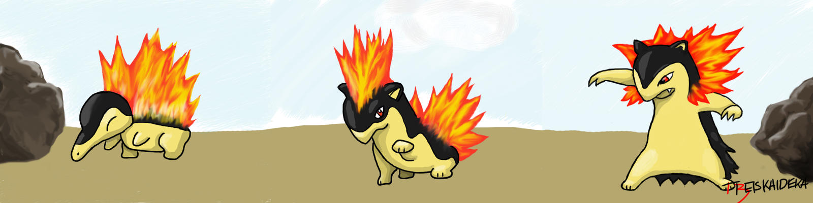 cyndaquil typhlosion quilava - photo #13