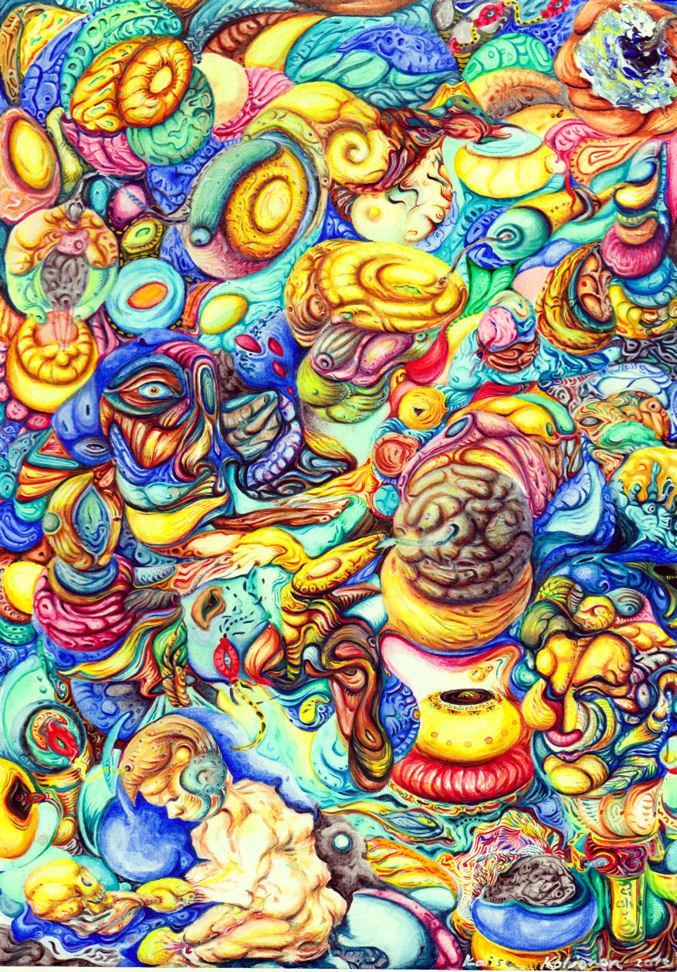 Oceanfloor of the Mind by memzu