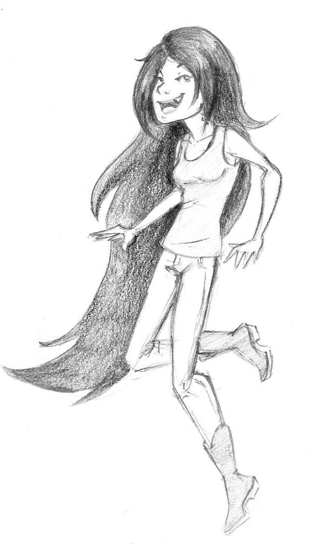Marceline Sketch by Arricia-sama