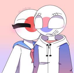 bucINKtober - Cheek Kiss