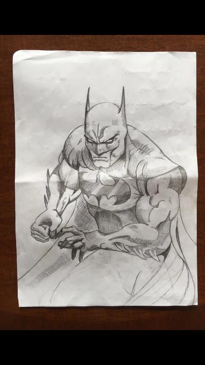 Batman by mickrowland