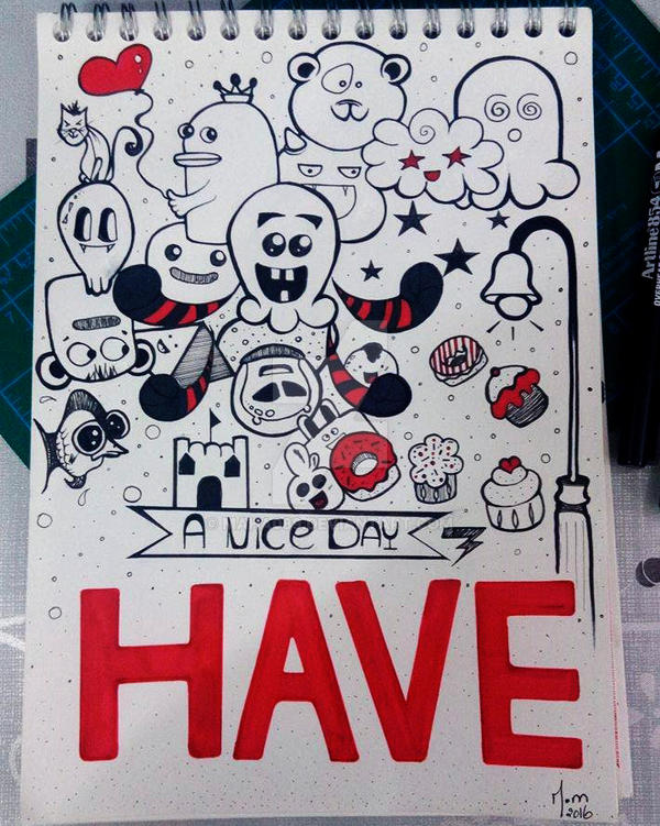 Have an a nice day doodle ! by Maha089