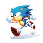 Toei Sonic Classic Render