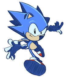 Toei Sonic Riders Style by tripplejaz