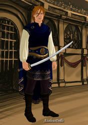 Fairytale Series: Beauty and The Beast-The Prince by LadyBladeWarAgnel