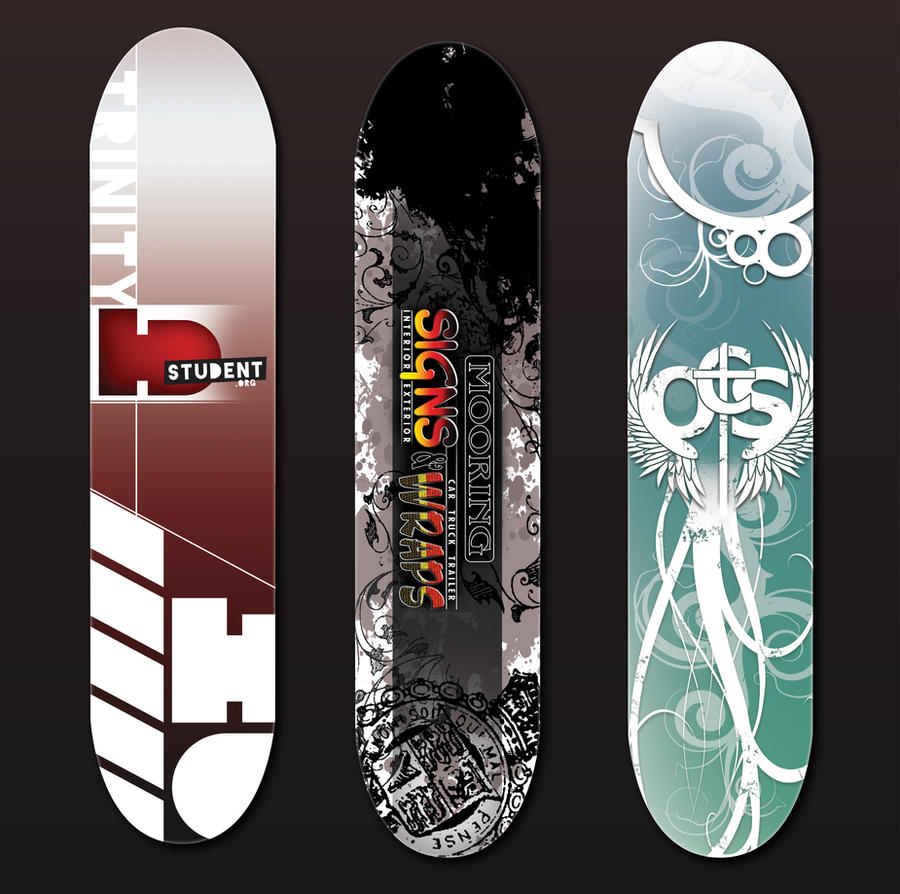 skateboard designs by 3 elements of grey designs interfaces other 2011