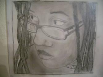 self-portrait by shesmells