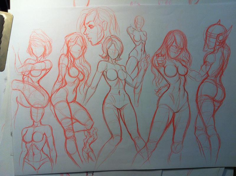 sketchies by Zamberz
