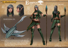 Elemencia character design 3 by Zamberz