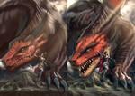 Dragon practice again!