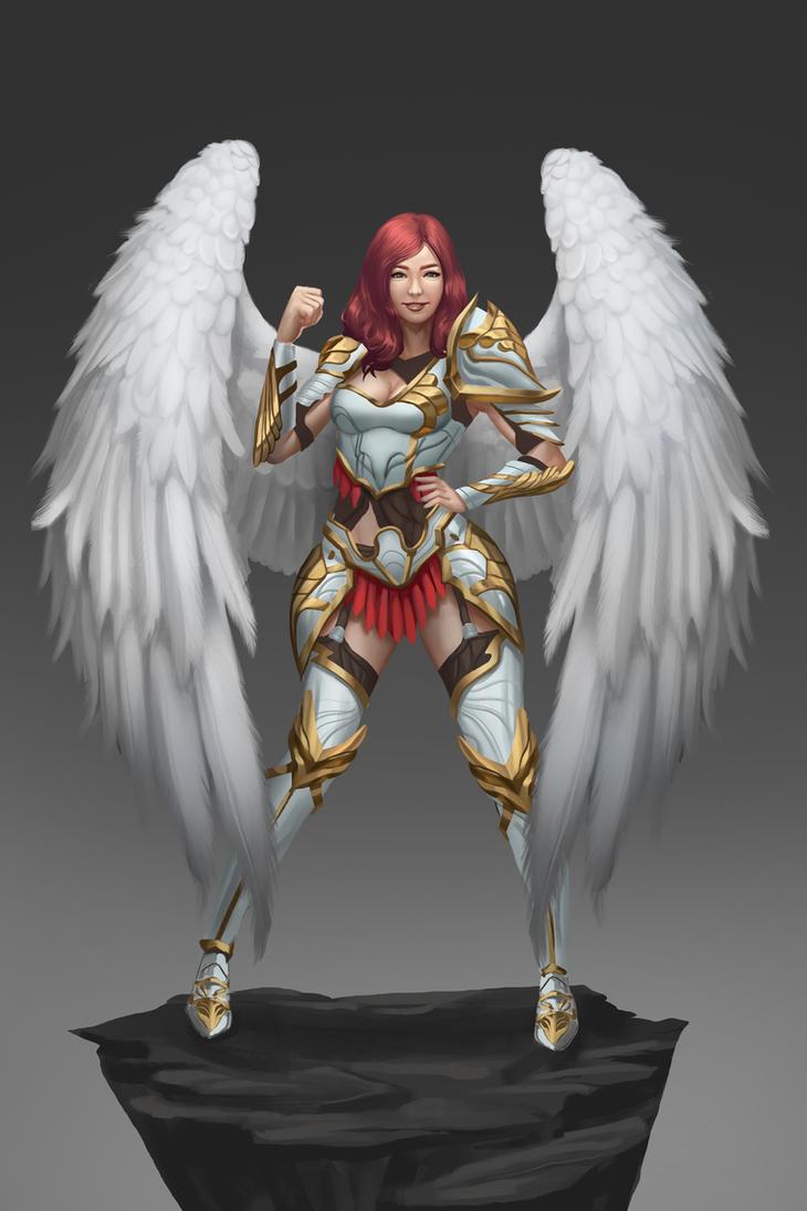 Angel warrior Concept by Zamberz on DeviantArt