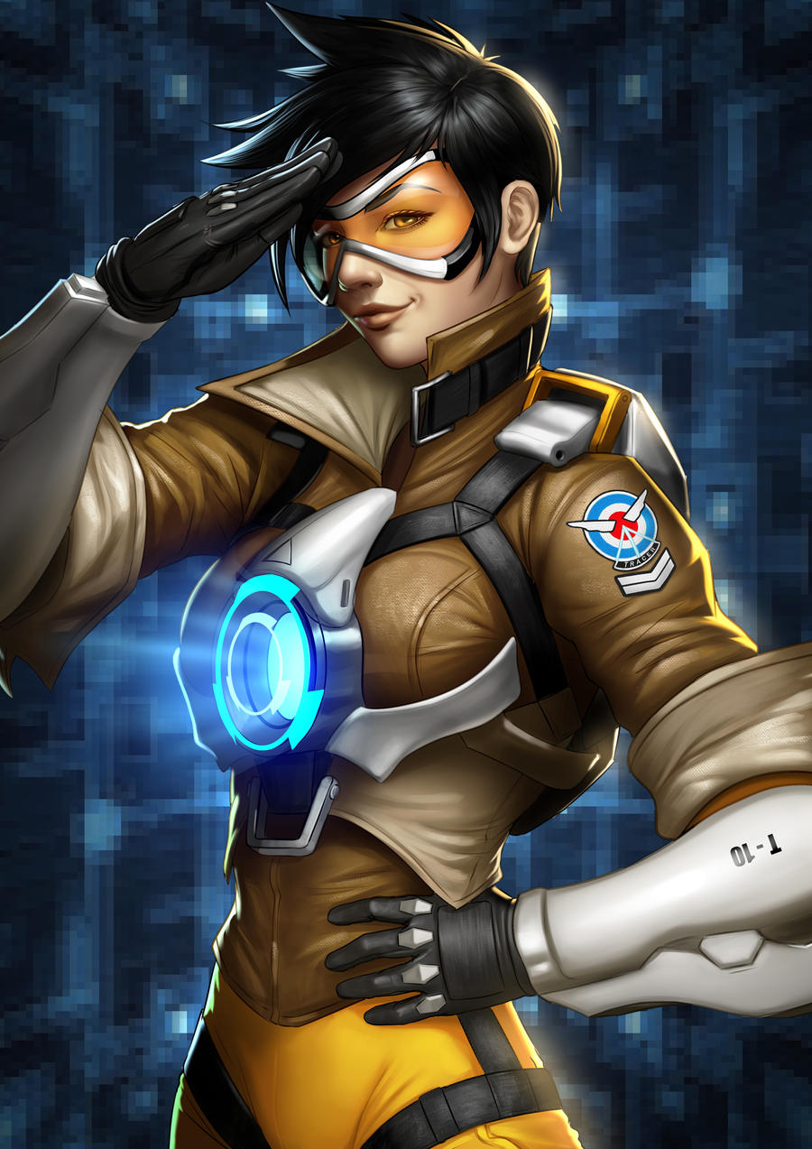 Tracer Overwatch by Zamberz