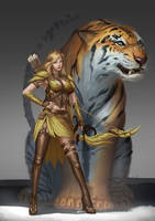 Archer concept by Zamberz