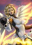 Overwatch Mercy Fanart