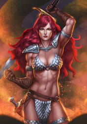 Red Sonja by Zamberz