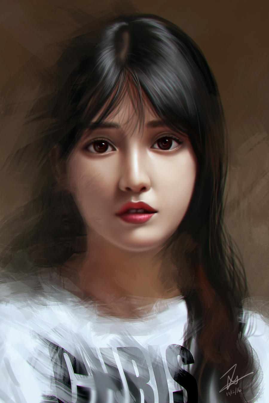 Portrait study by Zamberz