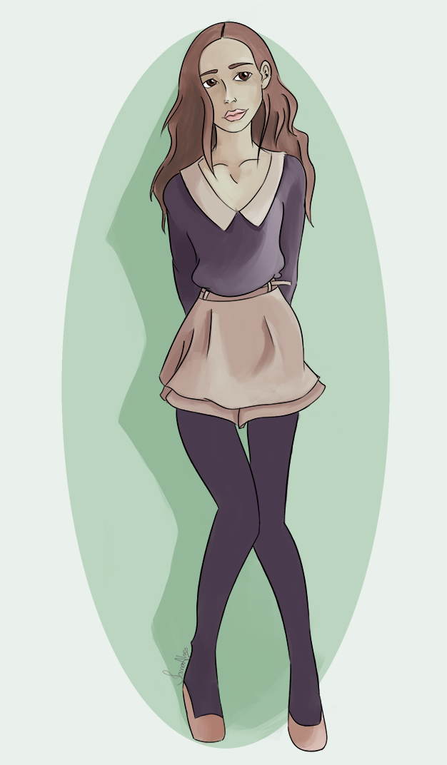 Girl by IanaAlves