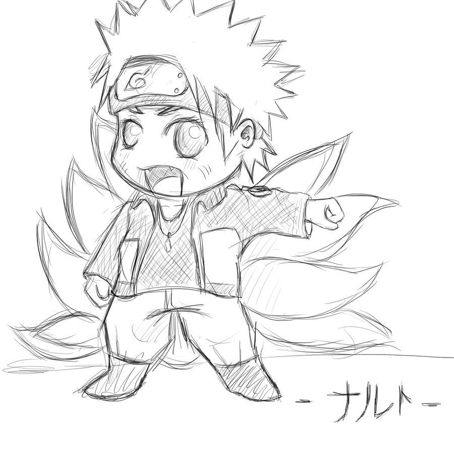 Naruto-The Ninetailed Fox- Chibi By LizzyxAkatsuki On