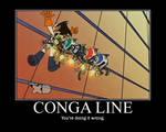 Monkey Conga Line