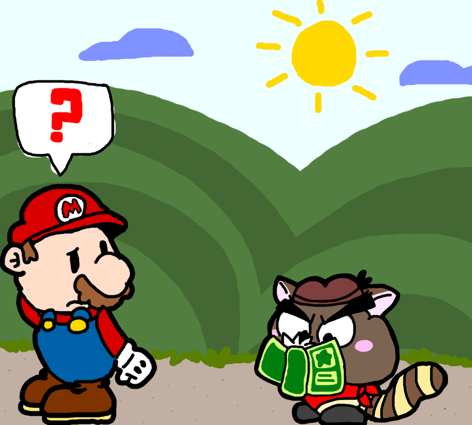 Paper Mario Thing by skywirefan