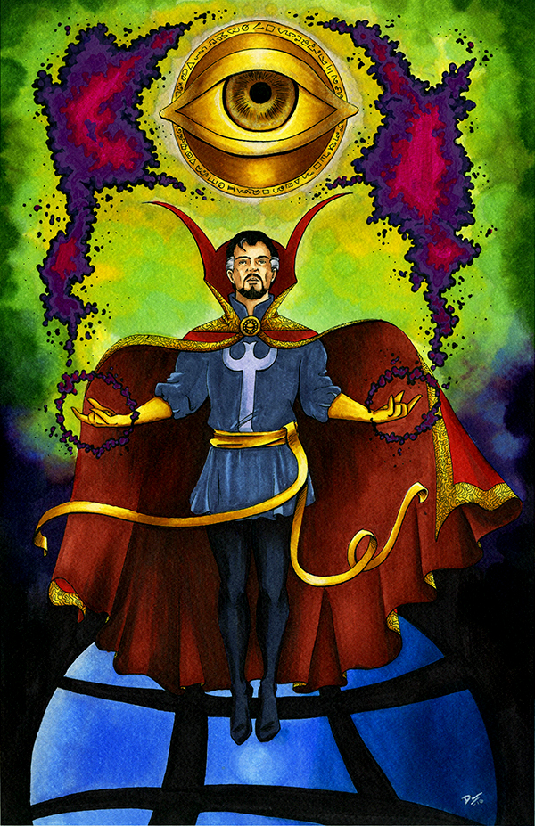 Doctor Strange by artofdawn