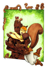 Squirrel Girl BFFs