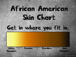 African American Skin Chart by Yellowsticus