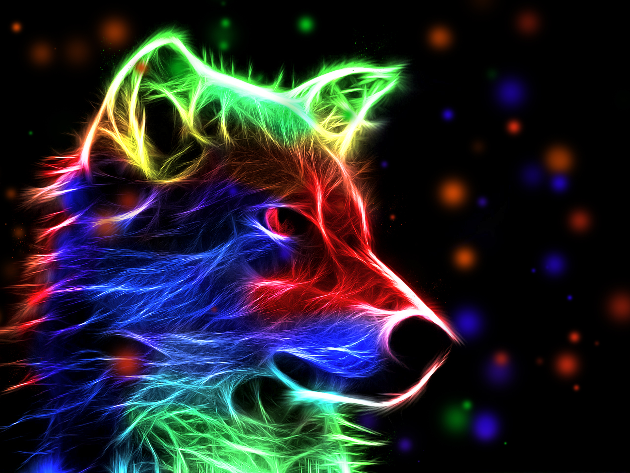 Abstract Wolf Pictures...