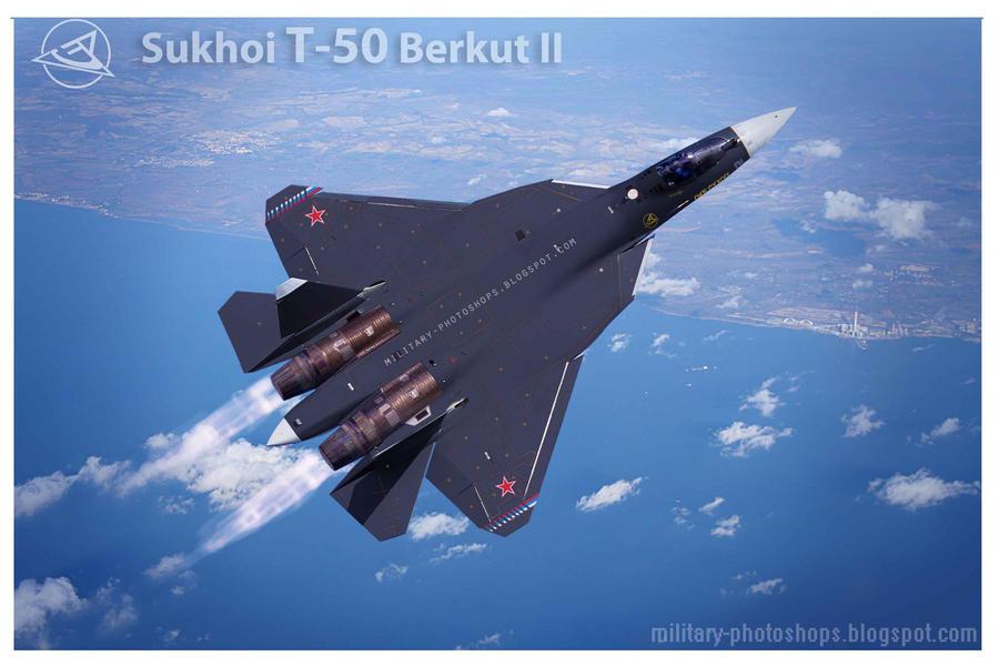 PAK-FA - Page 12 Sukhoi_t_50_pakfa_as_su_47_berkut_golden_eagle_ii_by_ghufranali-d54b3uc