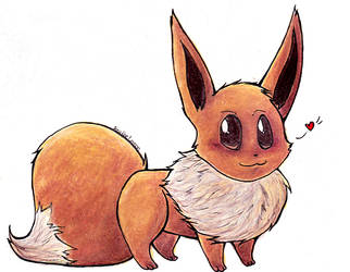 Eevee. by A-zne