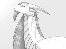 Inktober 2021: Dragons ~ Day 20 - Light Dragon