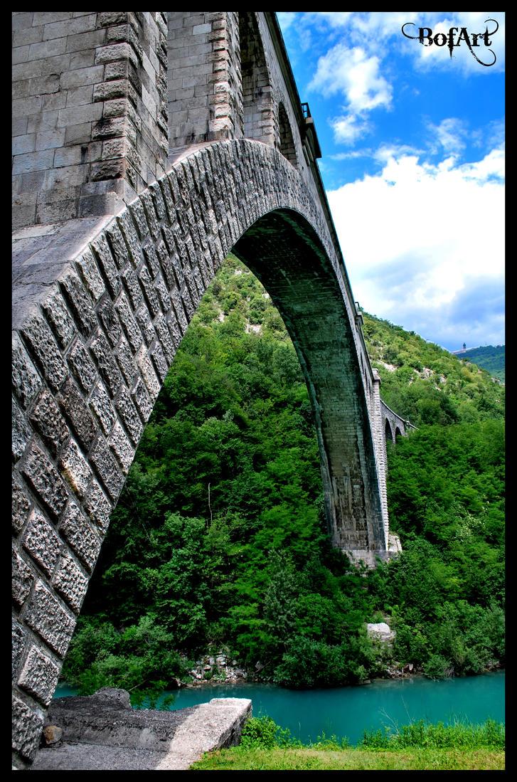 Solkanski most (Solkan Bridge) by BofArt