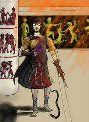 Gilgamesh W.I.P. R.I.P. color