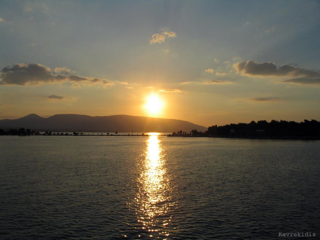 Mediterranean Sunrise by Kevrekidis