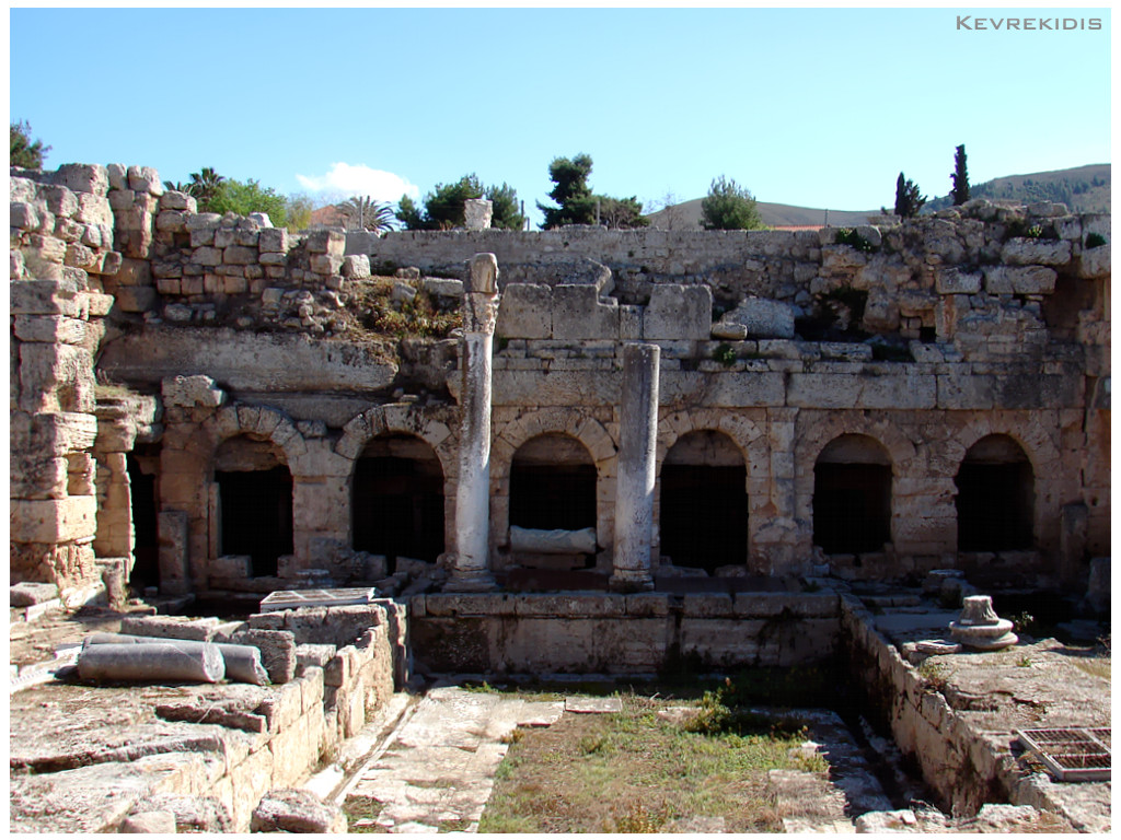 Kevrekidis Photography: Ancient Corinth - Greece