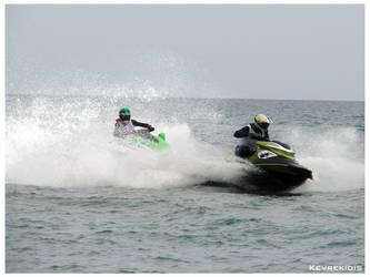 Jet Ski Racing by Kevrekidis