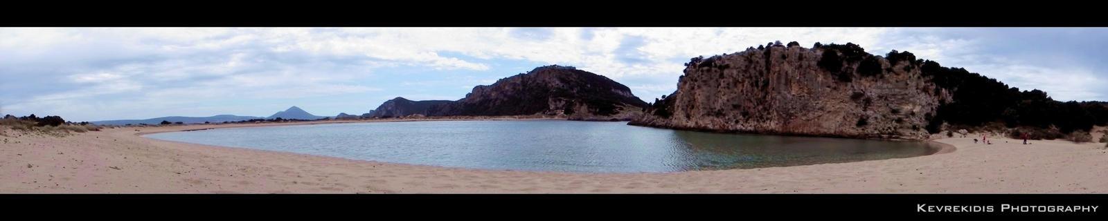 Messenian Beach by Kevrekidis