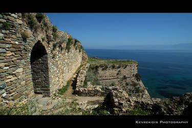 Koroni Castle by Kevrekidis