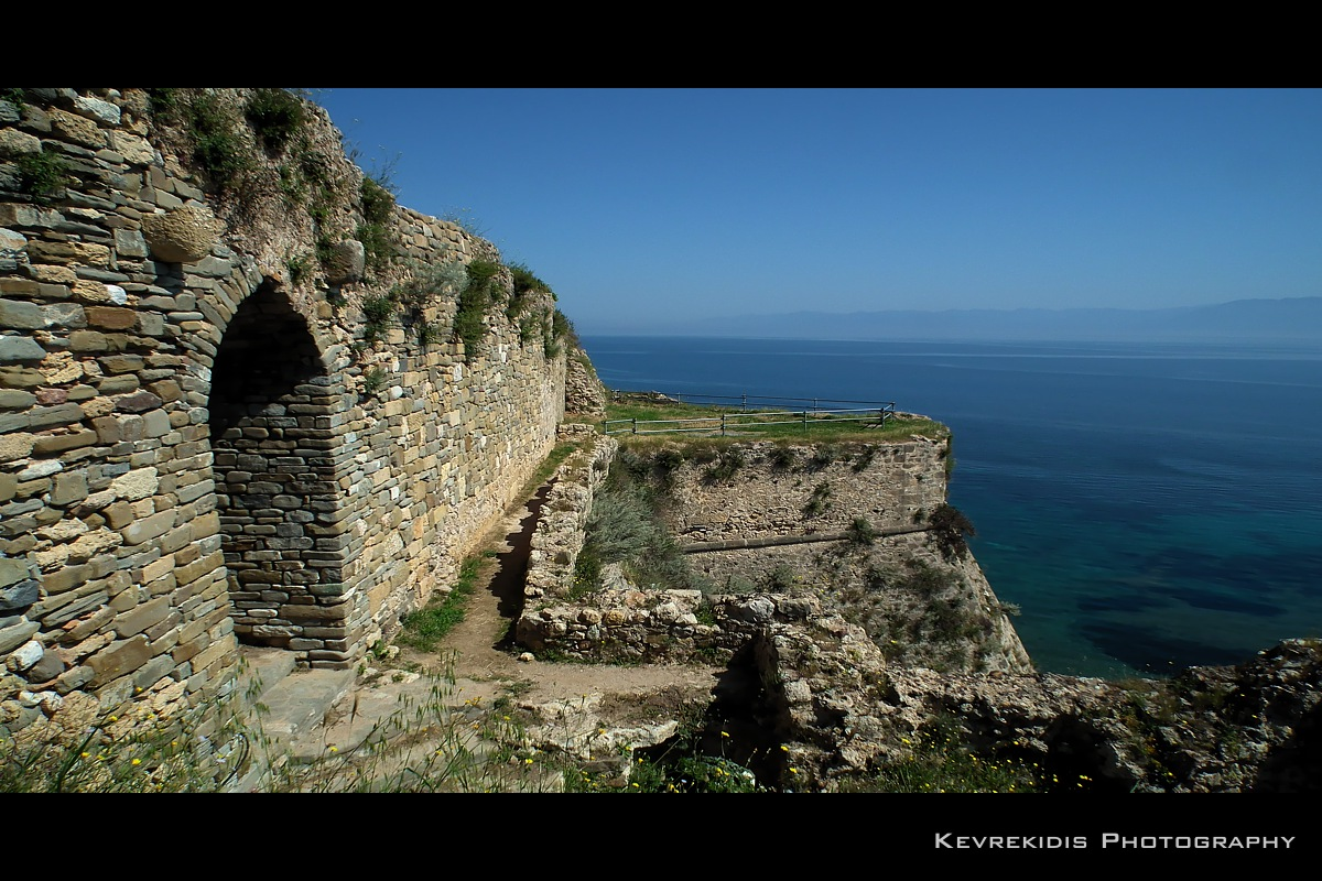 Koroni Castle by Kevrekidis