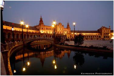 Plaza de Espana by Kevrekidis