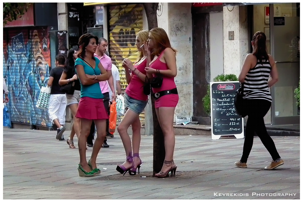 Street whores paid for sex compilation 3